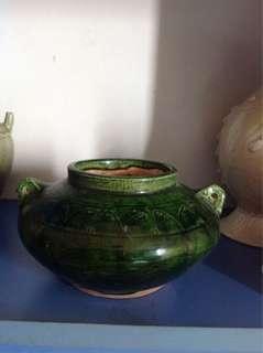 宋代绿釉水泴