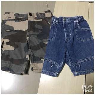 Gap n nike camouflage shorts