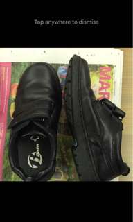 Kid's School / Graduation Black Shoes