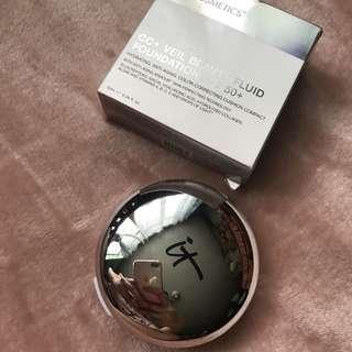 ⭐️ FREE SHIPPING ⭐️ IT Cosmetics CC+ Veil Beauty Fluid Foundation SPF 50+