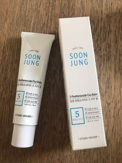 Etude house soon jung 5- panthensoside cica balm