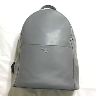 Emporio Armani genuine leather bag 真皮背包