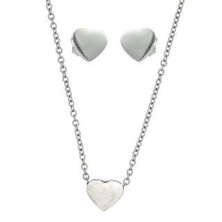 Silverworks Silver Heart set