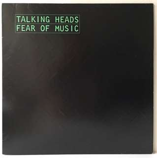 Talking Heads ‎– Fear Of Music (1979 Germany Original with Embossed Sleeve - Vinyl is Mint)