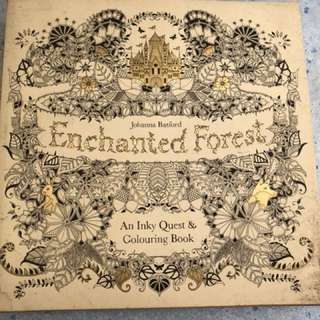 Enchanted Forest: Joana Basford's Coloring Book