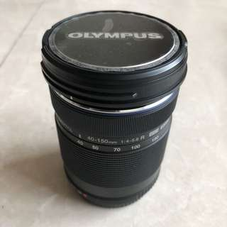 Olympus 40-150 Lens with carrying case