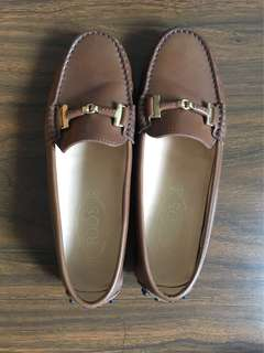 Authentic Tods Shoes. With Box and Dustbag. Rarely Used