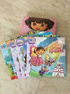 Dora isi 6 buku (dapat box)