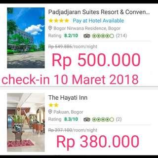 Sewa Hotel DiBogor 10 Maret 2018