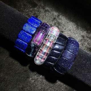 🚚 ·萬佛晶品· 青晶石 藍砂石 螢石 五行 手排 全部300 青晶石手排 藍砂石手排 螢石手排 五行手排 優惠款