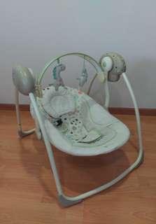 Bright Starts comfort portable baby swing