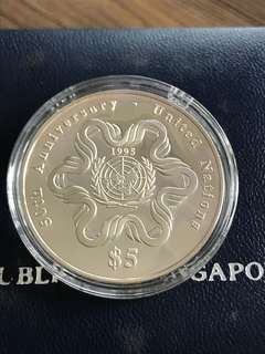 Singapore 1995 Silver Proof Coin