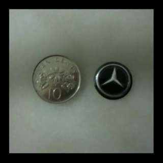 14mm Mercedes-Benz Emblem