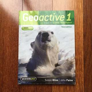 Geoactive 1 stage 4 global geography