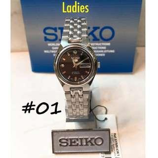 SEIKO5 AUTOMATIC 21 JEWELS WATCHES