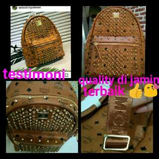 MCM Backpack my bag testimoni 😍