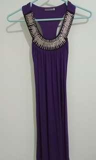 Dress A/T xchange ungu