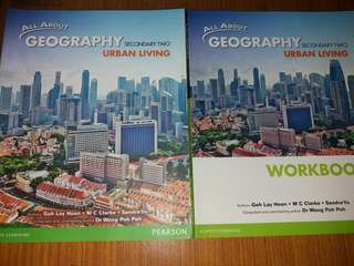 Secondary 2 Geography Textbook & Workbok