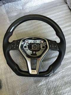 Mercedes C Class Full Carbon Fiber Steering Wheel