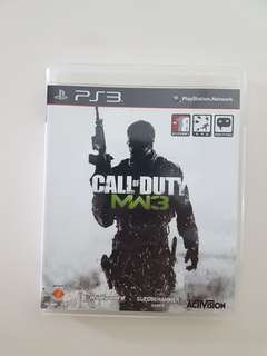 Ps3 COD: Modern Warfare 3