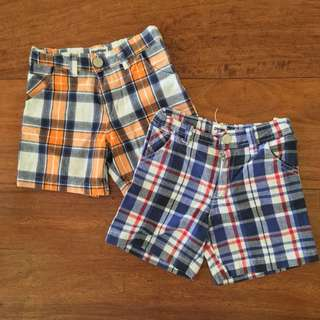 Osh Kosh Shorts, set of 2
