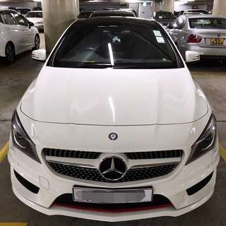 MERCEDES-BENZ CLA 正2015出廠 Facelift 仁孚行貨 低米 勤保養!