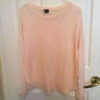 Urban Outfitter blush pink knit