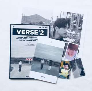 got7 jj project tomorrow ver unsealed group set