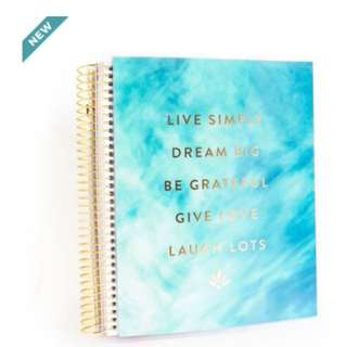 (PO) Creative Year Blue Live Simply Planner Medium Planner By Recollections™
