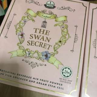 The Swan Secret collagen drink