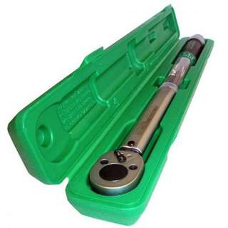 """Toptul 1/4"""" Dr. Micrometer Adjustable Torque Wrench 6-30Nm"""