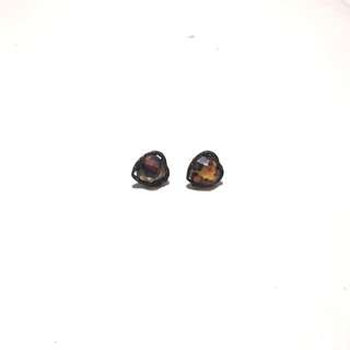 Genova Heart Ear Studs