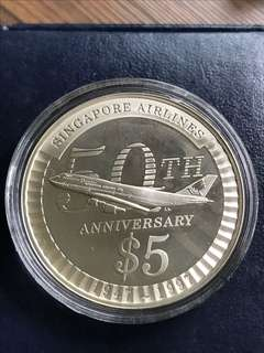 Singapore 1997 Proof Silver Coin