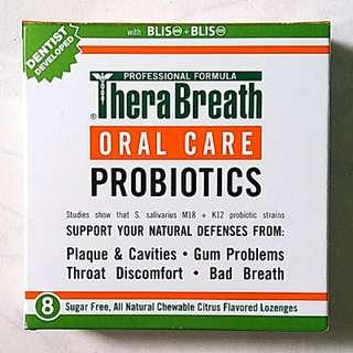 Revolutionary Solution to Bad Breath - Therabreath Oral Health Probiotics