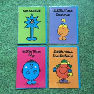 Mr. Men and Little Miss cards