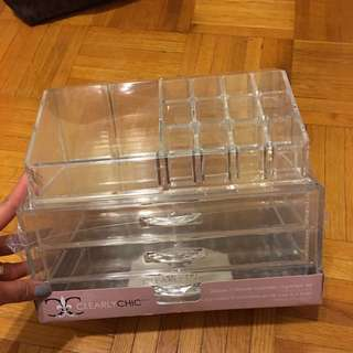 3 Drawer Cosmetic Organizer Set