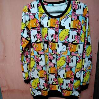 Mickey mouse colourful sweater