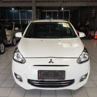 Mitsubishi mirage 2012 At exceed putih