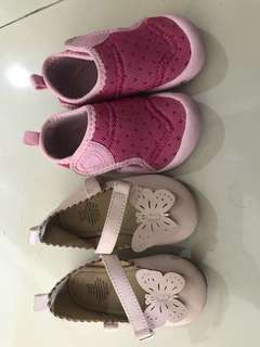 Baby shoesx2 pair