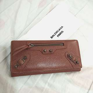 Balenciaga Brown Wallet