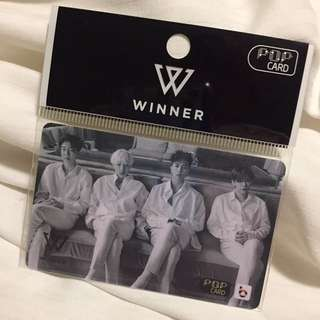 (全新現貨) YG 男團Winner限量POP card T money 韓國代購