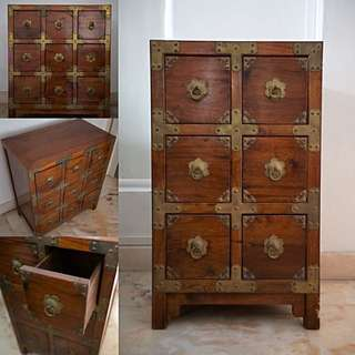 Chinese Chest (COMES AS A PAIR!)