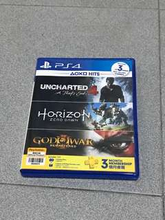 PS4-uncharted 4 and horizon zero dawn