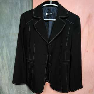 Gianinna black blazer