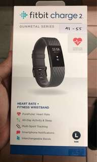Fitbit Charge 2 (Gunmetal Series)