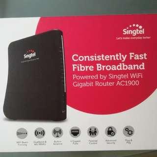 Singtel Gigabit Router - AC1900
