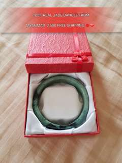 AUTHENTIC JADE BANGLE FROM MYANMAR ❤