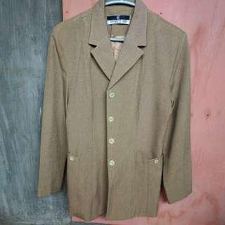 Cerbrutti 1888 khaki blazer