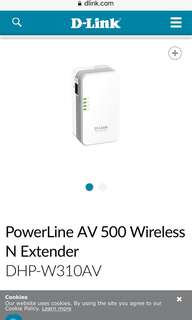 Powerline AV500 Wireless Extender