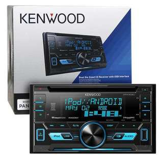 汽車音響器材 Kenwood DPX-504U Dual Din Sized CD Receiver with USB Interface